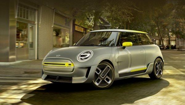 Электрокар MINI получит асимметричные колёса