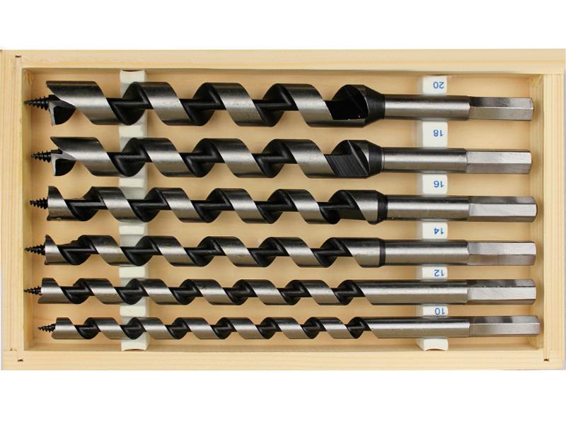 Наборы сверл для работы с разными материалами и поверхностями