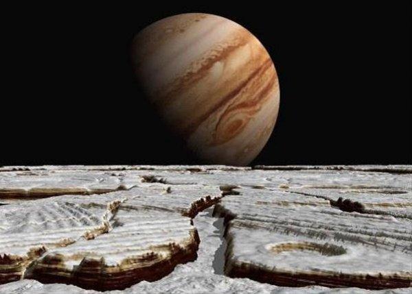 Поверхность спутника Юпитера опасна для исследовательских зондов NASA