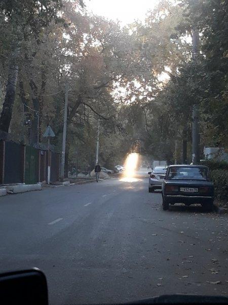 В Воронеже запечатлели приземление НЛО