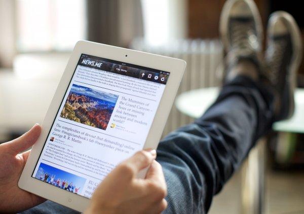 ВЦИО: Россияне чаще читают новости в сети, чем произведения