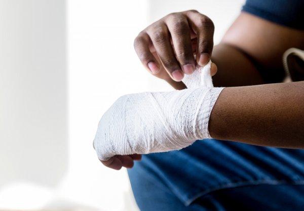 Ученые создали ускоряющую заживление ран повязку