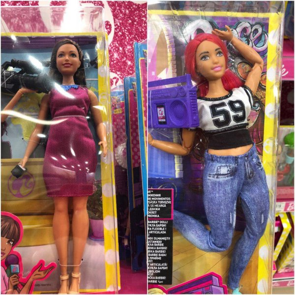 Россияне возмущены появлением в детских магазинах толстых кукол Барби
