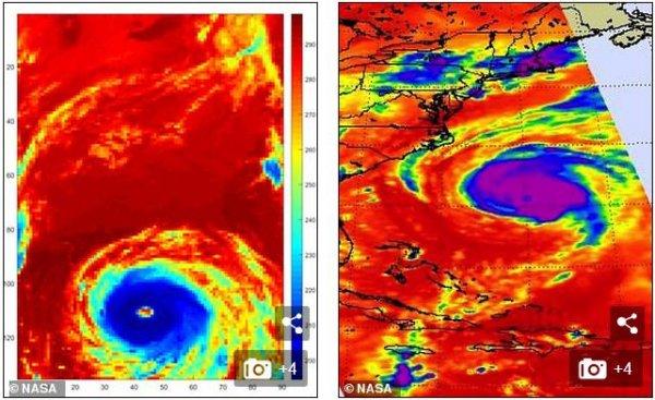 Ученые NASA: Из-за изменения климата во всем мире начнутся сильные штормы