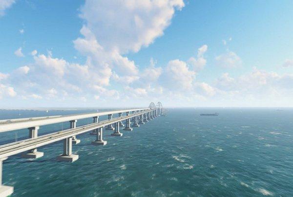 Крымский мост способствует очищению Азовского моря