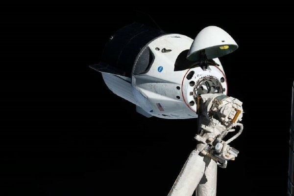 Пришельцы рядом? Crew Dragon запечатлел странный объект на орбите