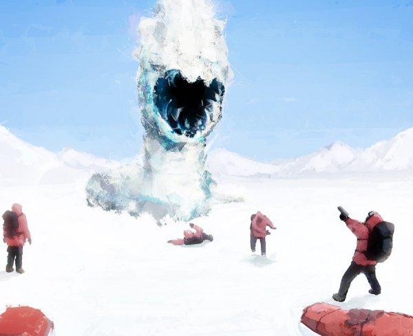 Плазмозавры атакуют Южный полюс: В аварии на российской станции «Прогресс» виноваты неопознанные сущности