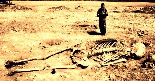 Великаны – были?: Существа огромного роста могли жить не только на Марсе