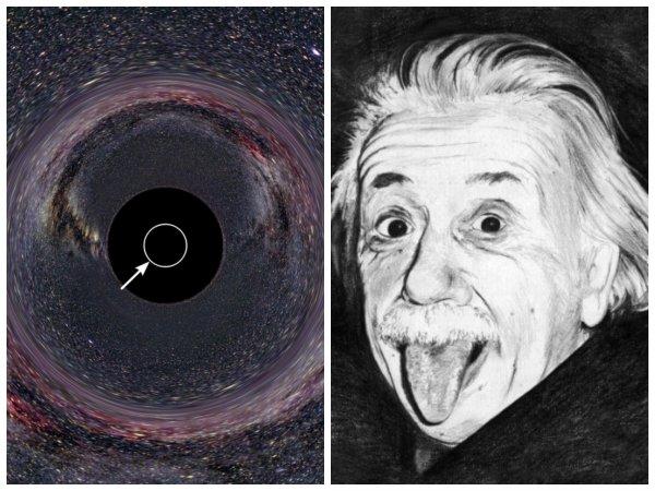 Эйнштейн оказался прав: Учёные хотят сфотографировать измерение пришельцев сквозь чёрные дыры