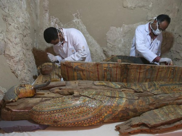 Мумии Древнего Царства были найдены в Египте