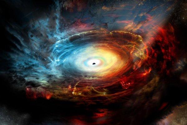 «Нибиру пакостит по-крупному»: Сверхмассивная чёрная дыра может засосать Солнечную систему вместе с Землёй