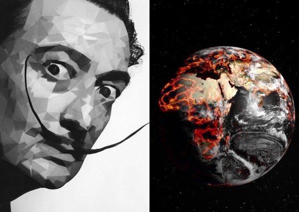 «Только молиться»: Умерший Сальвадор Дали послал «знак масонов», как предвестник Апокалипсиса