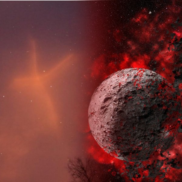 Нибиру начала вторжение: Над Землёй заметили «метку дьявола»