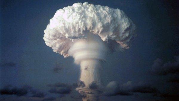 Тень Нибиру - Над Японским морем засняли «ядерный гриб» от столкновения с Планетой Х