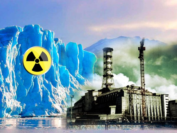 Антарктический Чернобыль: Таяние ледников угрожает человечеству радиоактивным загрязнением