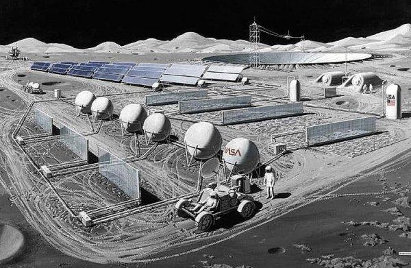 Тысячи цунами по всей планете: Потяжелевшая Луна столкнётся с Землёй из-за колонизации NASA
