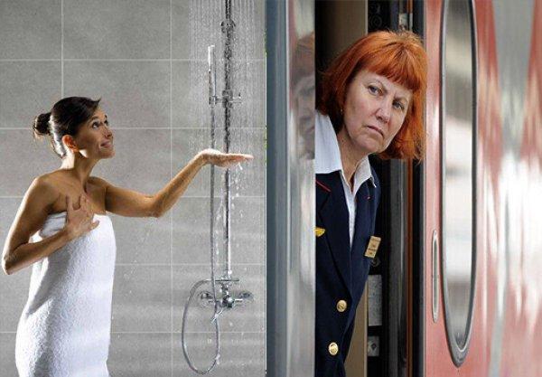Мошенничеству РЖД конец? Проводники скрывают бесплатный душ в вагонах ради собственной прибыли