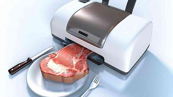 На МКС ученые напечатают «космическое» мясо на биопринтере