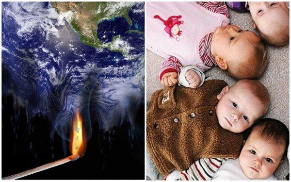 Дети экономически невыгодны? Эксперты выяснили, как глобальное потепление влияет на рождаемость