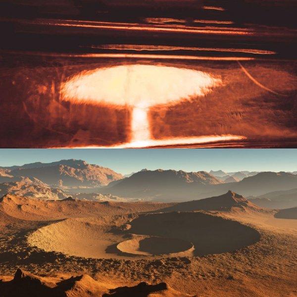 «Сферы Эдема» помогут землянам вернуться на свою «марсианскую Родину»