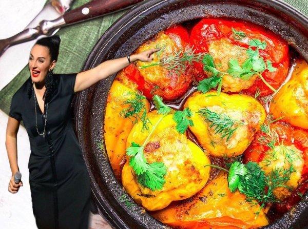 Елена Ваенга поделилась собственным рецептом фаршированных перцев