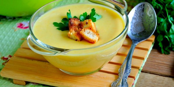 Вкусный кабачковый суп с рисом для похудения
