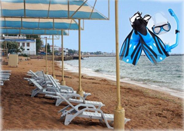 В Крыму готовят пляжи для приёма туристов